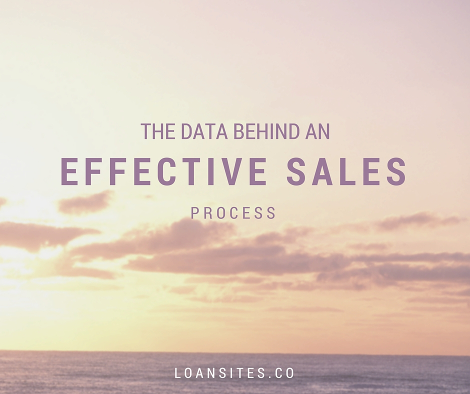 The Data Behind an Effective Sales Process