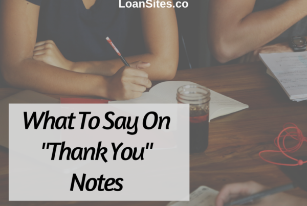 """What To Say On """"Thank You"""" Notes"""