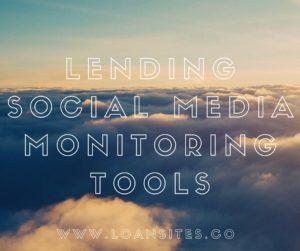 Mortgage Social Media Monitoring Tools