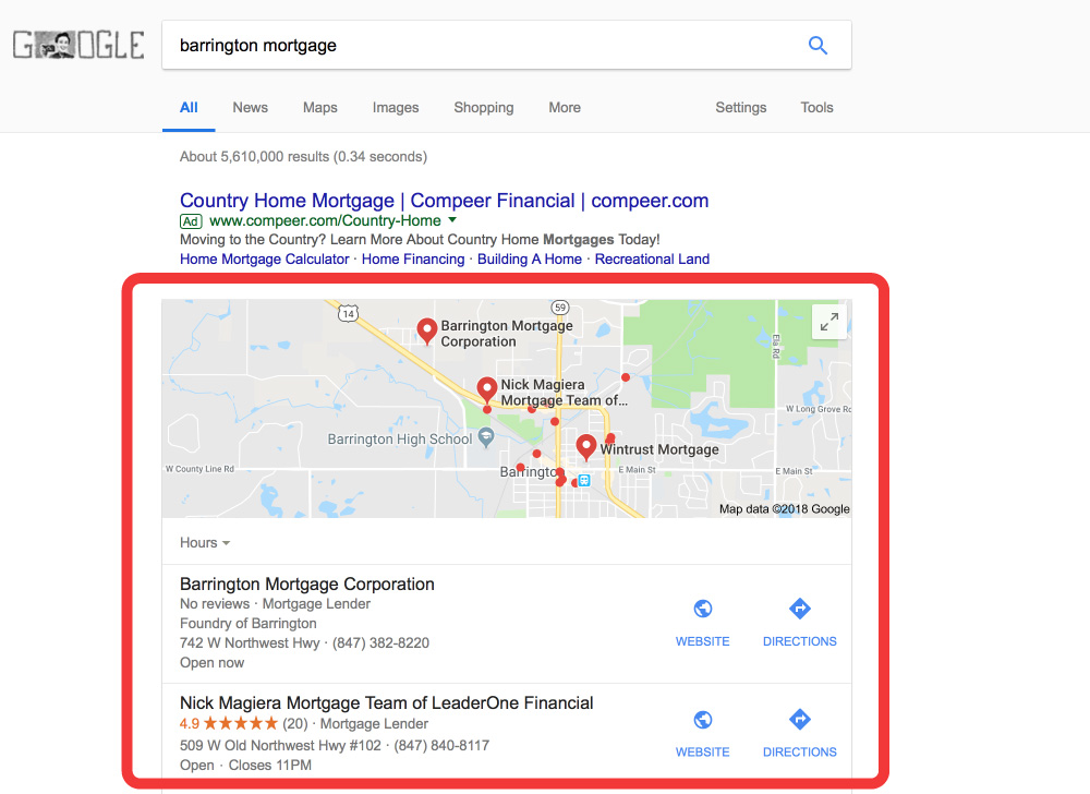 Google-First-Page-Mortgage