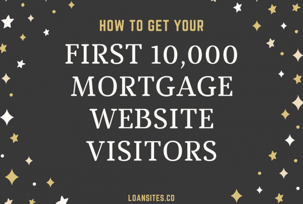 Get Mortgage Website Visitors