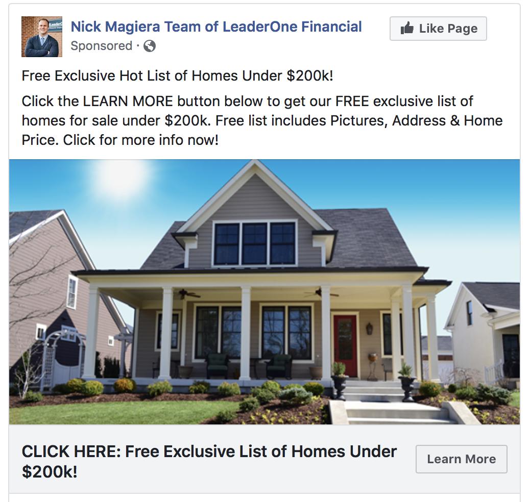 Retargeting Ad Mortgage